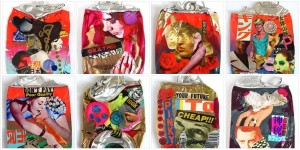 collage cans